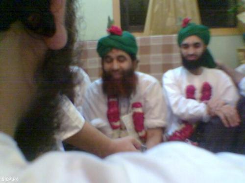 ilyas qadri and his son