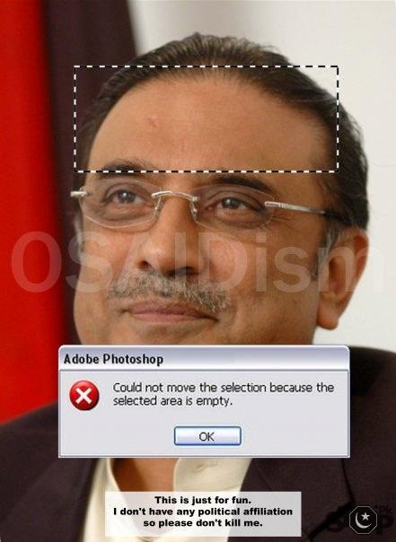 zardari with our mind